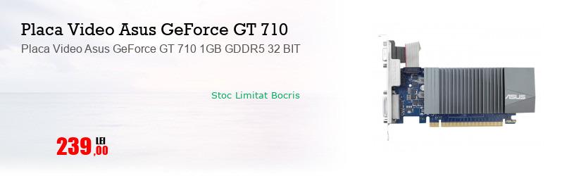 Placa Video Asus GeForce GT 710 1GB GDDR5 32 BIT