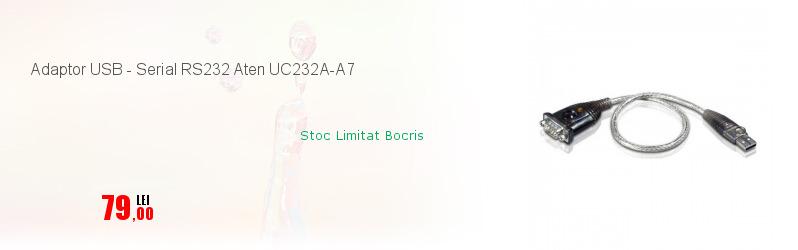 Adaptor USB - Serial RS232 Aten UC232A-A7