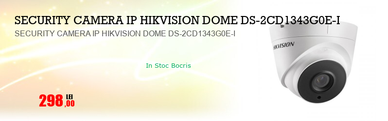 SECURITY CAMERA IP HIKVISION DOME DS-2CD1343G0E-I