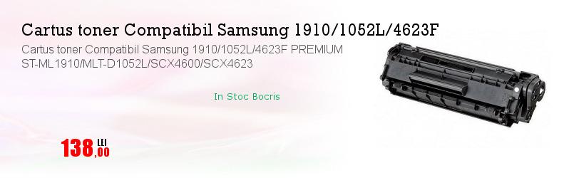 Cartus toner Compatibil Samsung 1910/1052L/4623F PREMIUM ST-ML1910/MLT-D1052L/SCX4600/SCX4623