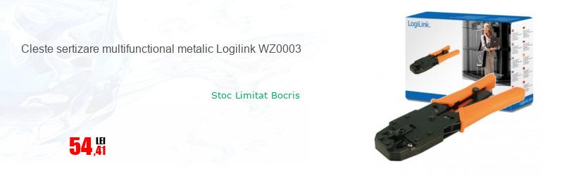 Cleste sertizare multifunctional metalic Logilink WZ0003
