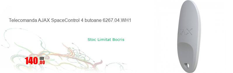 Telecomanda AJAX SpaceControl 4 butoane 6267.04.WH1