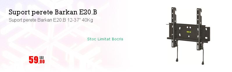"Suport perete Barkan E20.B 12-37"" 40Kg"