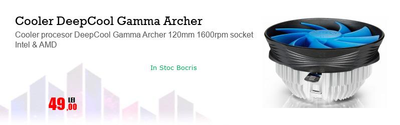 Cooler procesor DeepCool Gamma Archer 120mm 1600rpm socket Intel & AMD