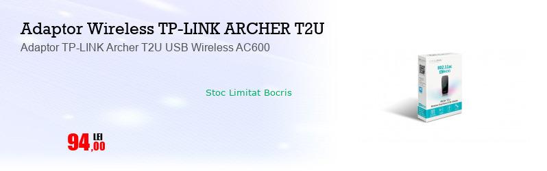 Adaptor TP-LINK Archer T2U USB Wireless AC600