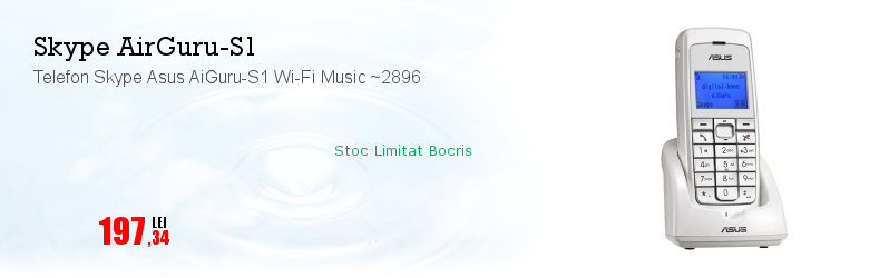 Telefon Skype Asus AiGuru-S1 Wi-Fi Music ~2896