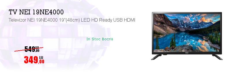 "Televizor NEI 19NE4000 19""(48cm) LED HD Ready USB HDMI"