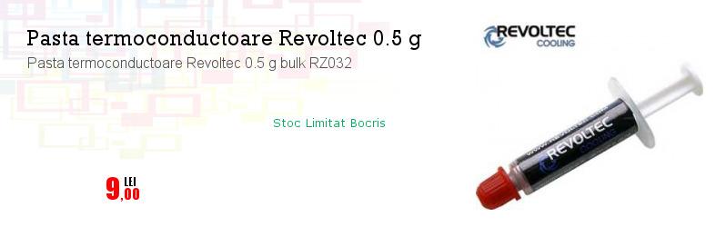 Pasta termoconductoare Revoltec 0.5 g bulk RZ032
