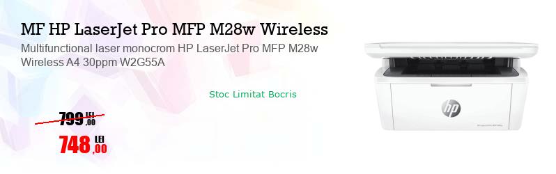 Multifunctional laser monocrom HP LaserJet Pro MFP M28w Wireless A4 30ppm W2G55A