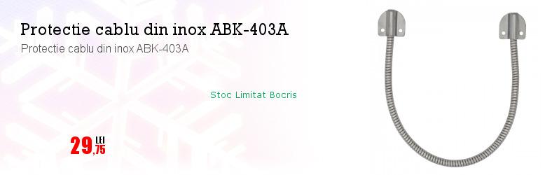 Protectie cablu din inox ABK-403A