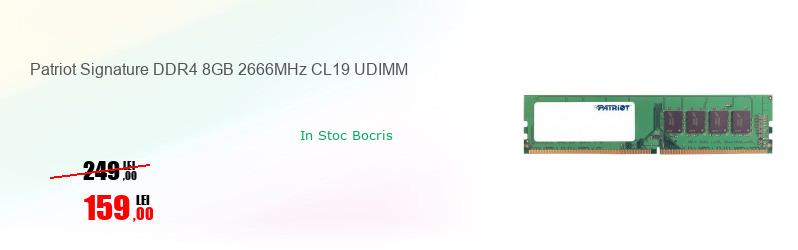 Patriot Signature DDR4 8GB 2666MHz CL19 UDIMM