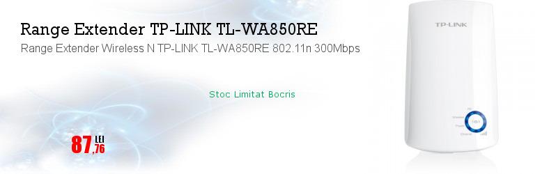 Range Extender Wireless N TP-LINK TL-WA850RE 802.11n 300Mbps