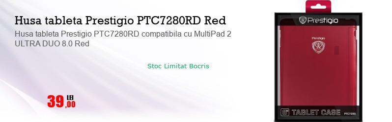 Husa tableta Prestigio PTC7280RD compatibila cu MultiPad 2 ULTRA DUO 8.0 Red