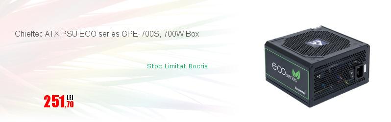 Chieftec ATX PSU ECO series GPE-700S, 700W Box