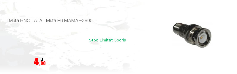 Mufa BNC TATA - Mufa F6 MAMA ~3805