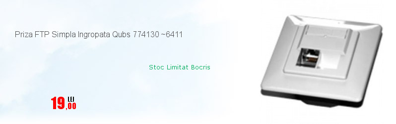 Priza FTP Simpla Ingropata Qubs 774130 ~6411