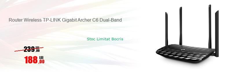 Router Wireless TP-LINK Gigabit Archer C6 Dual-Band