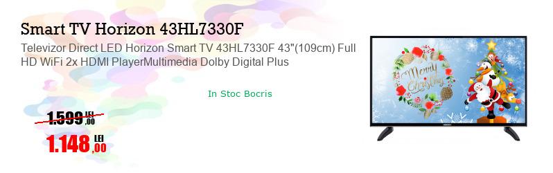 "Televizor Direct LED Horizon Smart TV 43HL7330F 43""(109cm) Full HD WiFi 2x HDMI PlayerMultimedia Dolby Digital Plus"