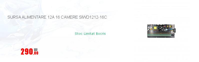 SURSA ALIMENTARE 12A 16 CAMERE SIWD1212-16C