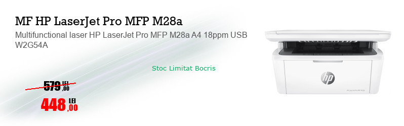 Multifunctional laser HP LaserJet Pro MFP M28a A4 18ppm USB W2G54A