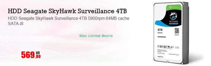 HDD Seagate SkyHawk Surveillance 4TB 5900rpm 64MB cache SATA-III