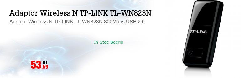 Adaptor Wireless N TP-LINK TL-WN823N 300Mbps USB 2.0