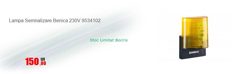 Lampa Semnalizare Benica 230V 9534102