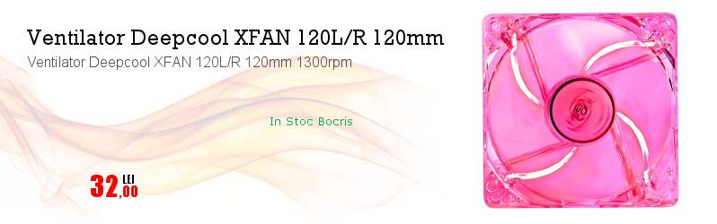 Ventilator Deepcool XFAN 120L/R 120mm 1300rpm