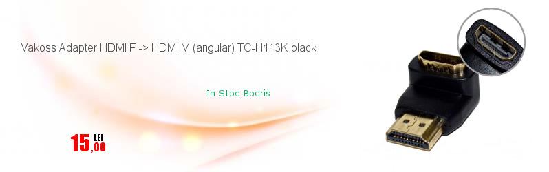 Vakoss Adapter HDMI F -> HDMI M (angular) TC-H113K black