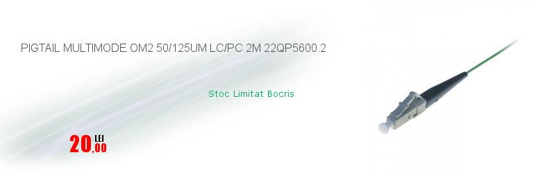 PIGTAIL MULTIMODE OM2 50/125UM LC/PC 2M 22QP5600.2
