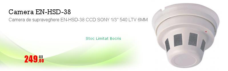 "Camera de supraveghere EN-HSD-38 CCD SONY 1/3"" 540 LTV 6MM"