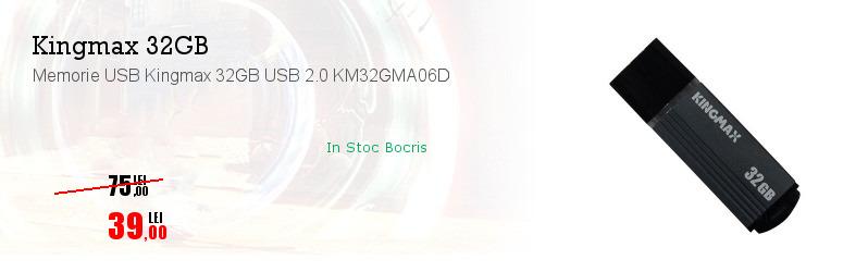 Memorie USB Kingmax 32GB USB 2.0 KM32GMA06D