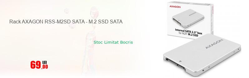 Rack AXAGON RSS-M2SD SATA - M.2 SSD SATA