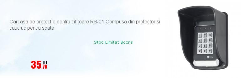 Carcasa de protectie pentru cititoare RS-01 Compusa din protector si cauciuc pentru spate