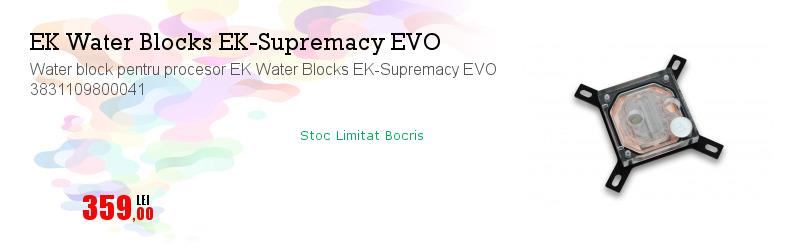 Water block pentru procesor EK Water Blocks EK-Supremacy EVO 3831109800041