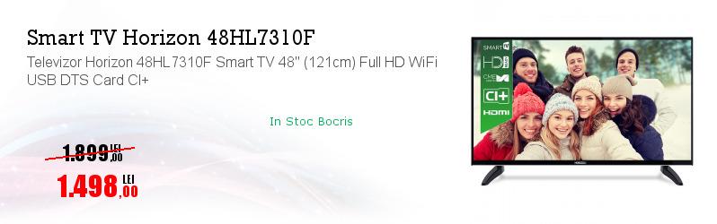 "Televizor Horizon 48HL7310F Smart TV 48"" (121cm) Full HD WiFi USB DTS Card CI+"