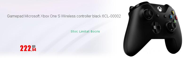Gamepad Microsoft Xbox One S Wireless controller black 6CL-00002