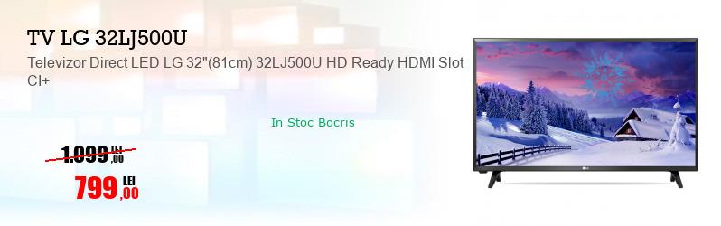 "Televizor Direct LED LG 32""(81cm) 32LJ500U HD Ready HDMI Slot CI+"