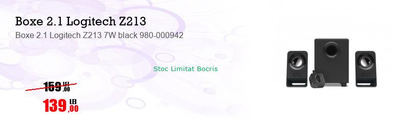 Boxe 2.1 Logitech Z213 7W black 980-000942