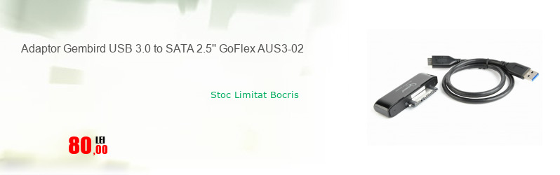 Adaptor Gembird USB 3.0 to SATA 2.5'' GoFlex AUS3-02