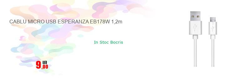 CABLU MICRO USB ESPERANZA EB178W 1,2m