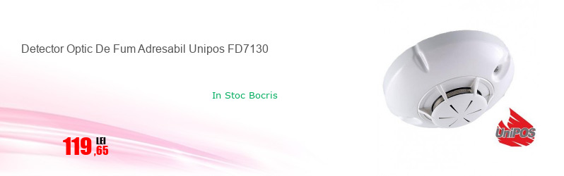Detector Optic De Fum Adresabil Unipos FD7130