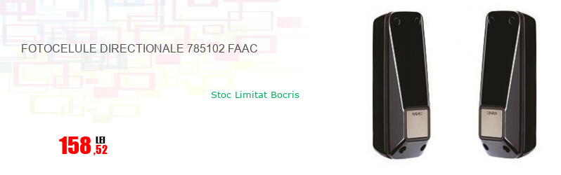 FOTOCELULE DIRECTIONALE 785102 FAAC
