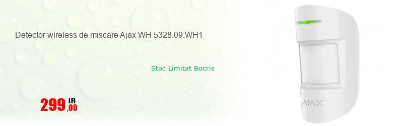 Detector wireless de miscare Ajax WH 5328.09.WH1