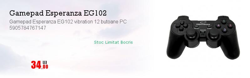Gamepad Esperanza EG102 vibration 12 butoane PC 5905784767147