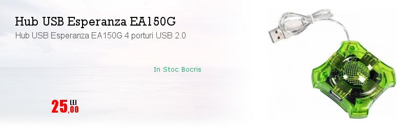 Hub USB Esperanza EA150G 4 porturi USB 2.0