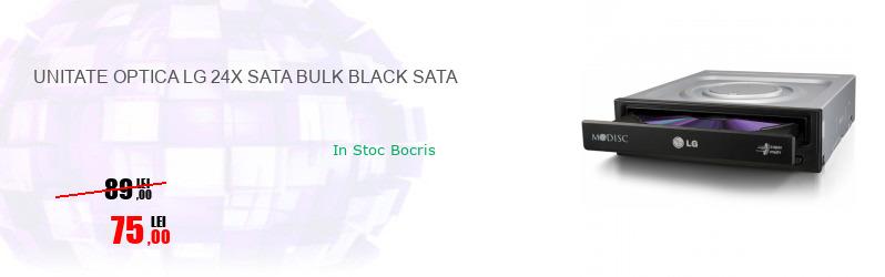 UNITATE OPTICA LG 24X SATA BULK BLACK SATA