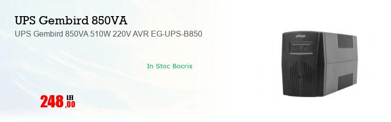 UPS Gembird 850VA 510W 220V AVR EG-UPS-B850