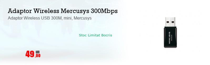 Adaptor Wireless USB 300M, mini, Mercusys
