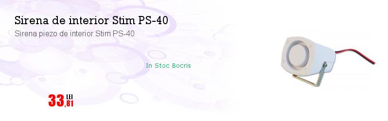 Sirena piezo de interior Stim PS-40